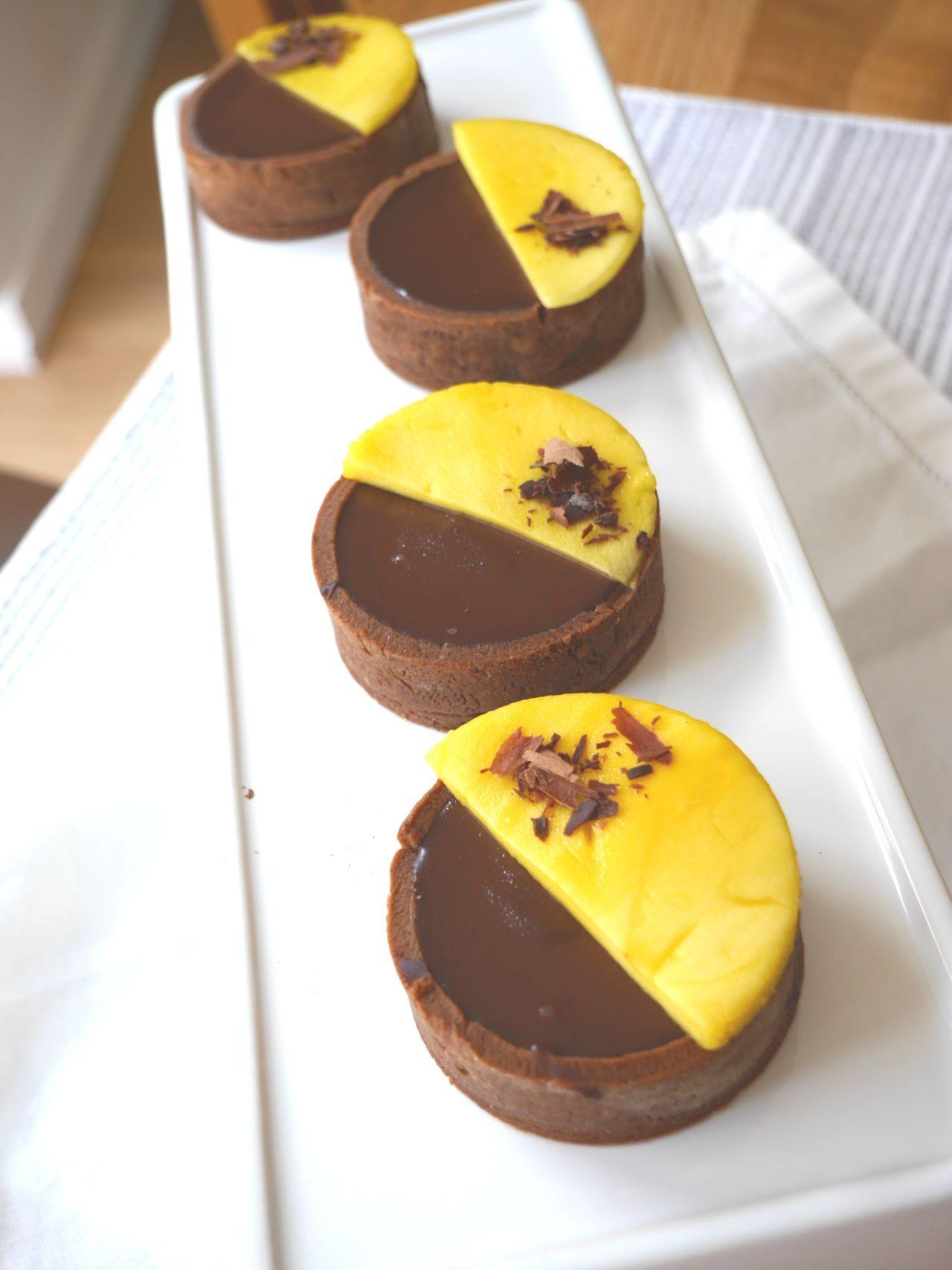 köln beste backen rezept schokoladen mango törtchen