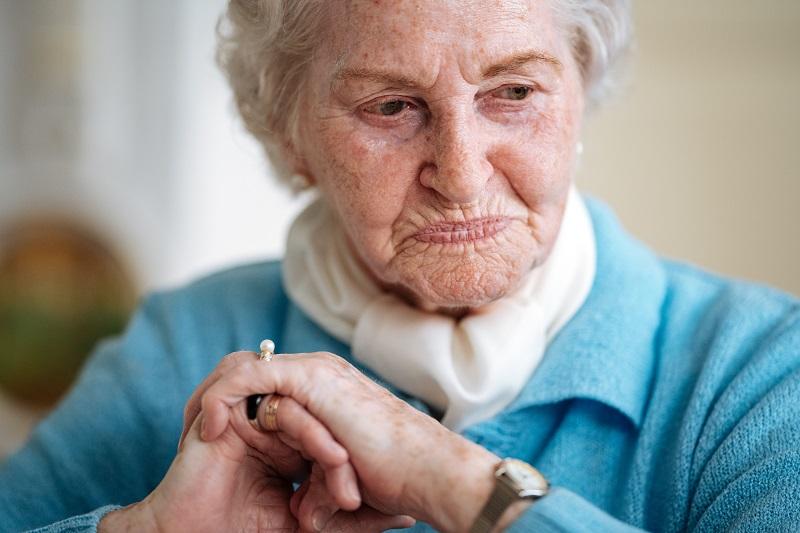 Noch heute erinnert sich Margareta gern an ihre Jugend in der Rosenhofsiedlung.