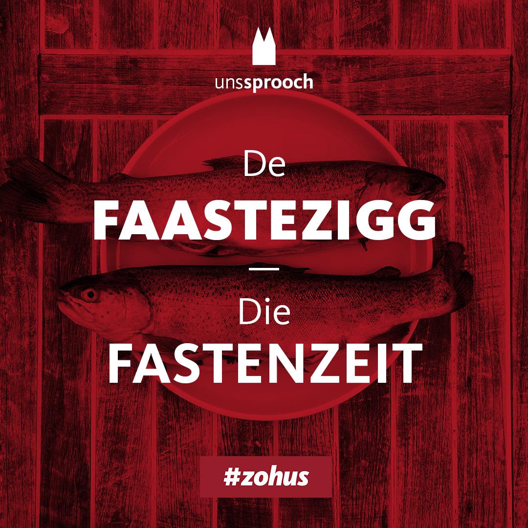 Köln Beste Uns Sprooch_Fastenzeit