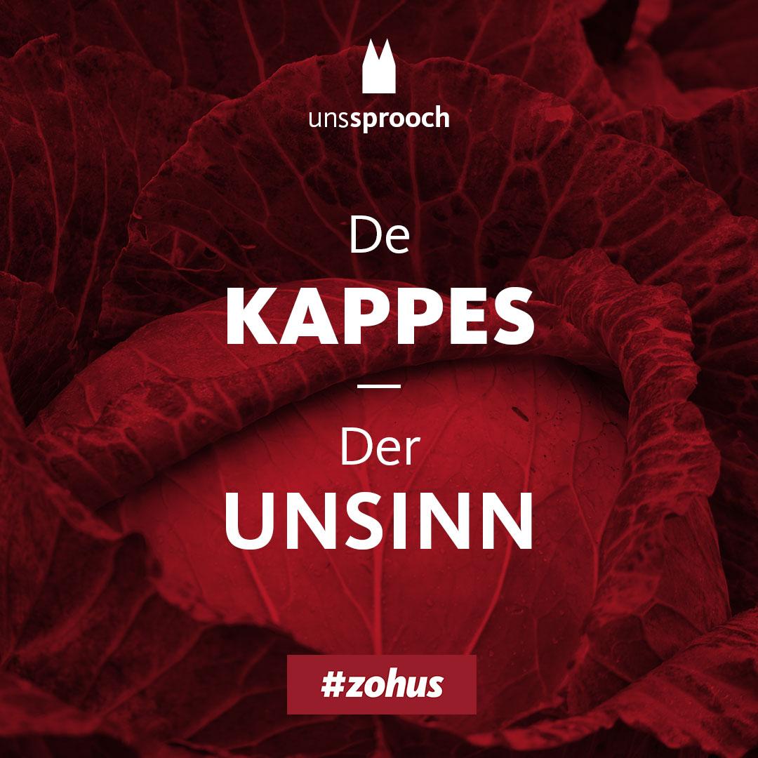 Köln Beste Uns Sprooch_kappes