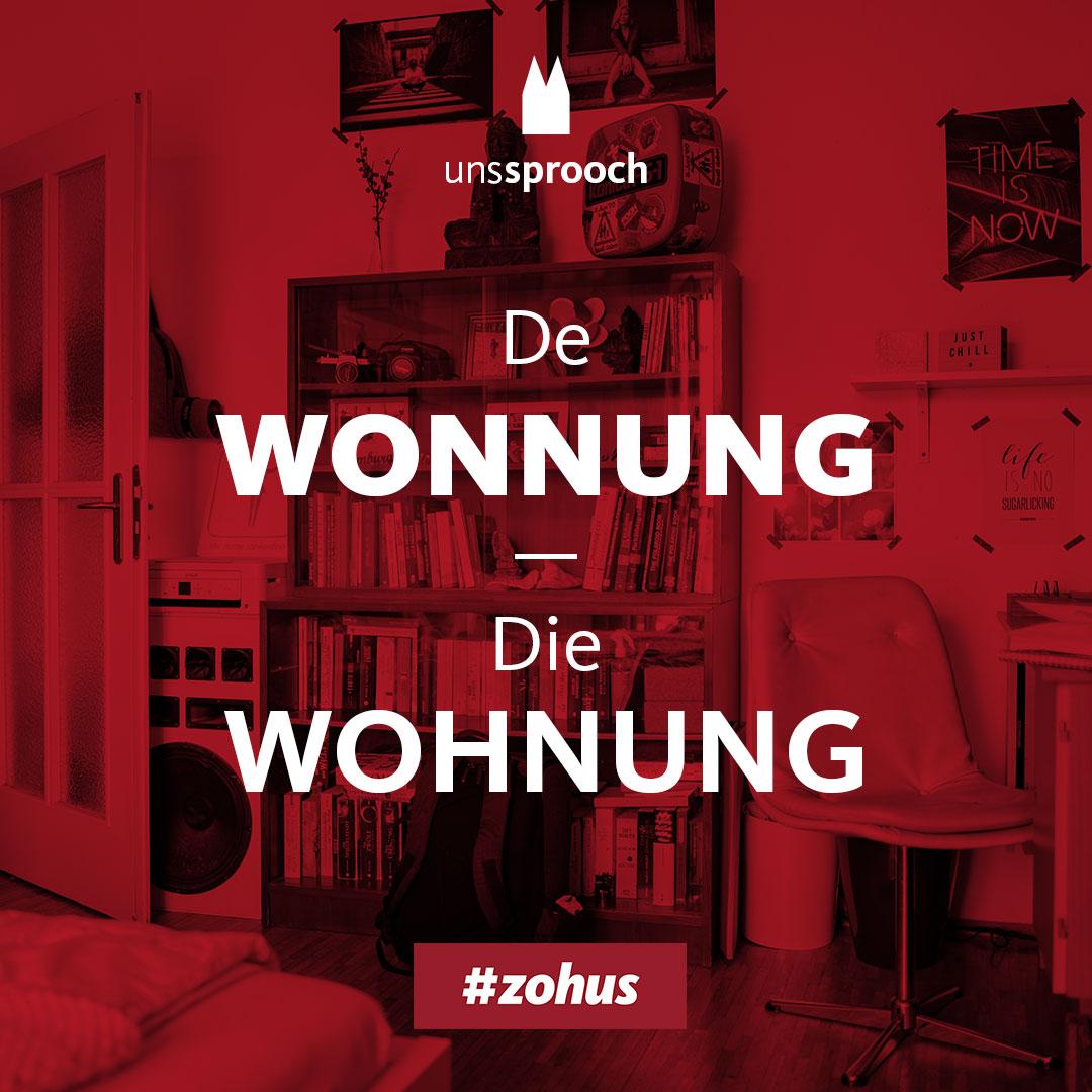 Köln Beste Uns Sprooch_wohnung