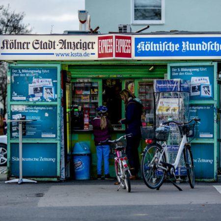 Ein Kiosk ums Eck gehört in Köln-Sülz zum Lebensgefühl