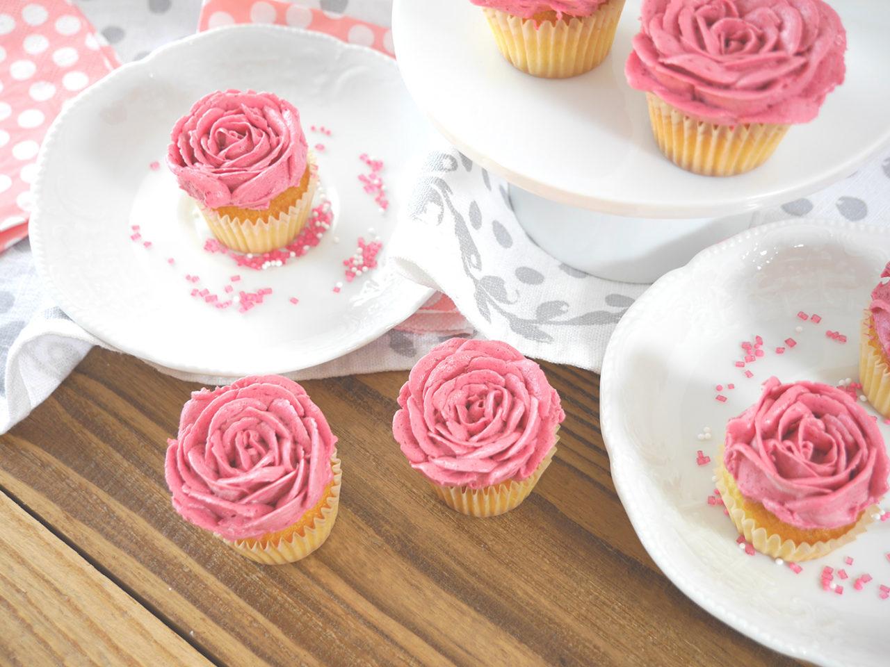 Köln Beste Leckerchen Rosen Cupcakes 1